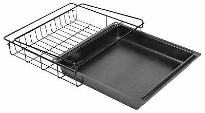 Gun Safe Cabinet Quick Attach Vault Sliding Drawer Shelf Organization Black