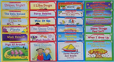Scholastic Little Leveled Readers Learn to Read Preschool Kindergarten Lot 24