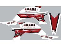 2003 2004 2005 2006 2007 2008 YFZ 450 YFZ450 YAMAHA GRAPHICS KIT DECO DECALS