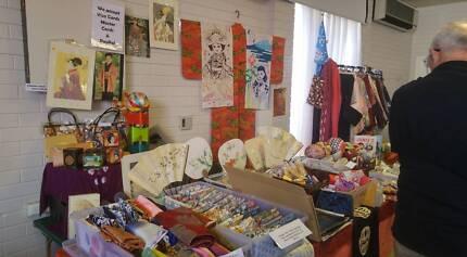 Japanese Kimono Antiques Fair Sun 19 Nov Amherst Community Centre