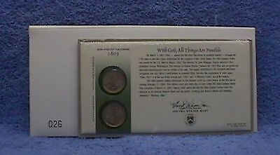 2002 Ohio Official First Day Coin Cover (Q26)  Unopened Official First Day Coin Cover