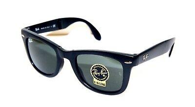 Gafas de Sol Rayban 4105 Wayfarer Plegable Tamaño 50 Nuevo Original