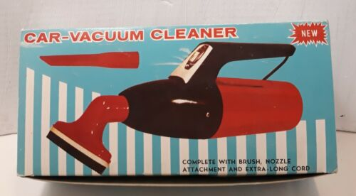 vintage 60 s 70 s car vacuum