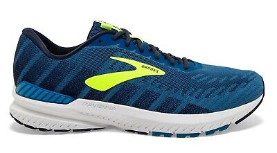 BROOKS RAVENNA 10 MENS BLUE SUPPORT GYM RUNNING TRAINERS SHOES UK 12 US 13
