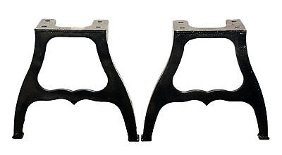 Pair Of Industrial Machine Cast Iron Coffee Table Legs NEW LOW PRICE U0026 FREE  SHIP