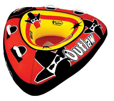 Airhead SPORTSSTUFF 53-1126 Outlaw 48-Inch Single Rider Water Boat Tube Towable
