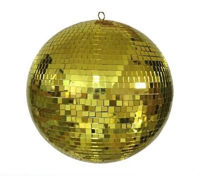 HUGE 20 IN GOLD MIRROR DISCO BALL party supplies reflection mirrors dj REFLECT - Disco Ball Party Supplies