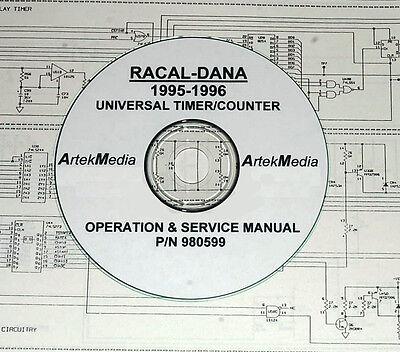 Racal-dana 1995 1996 Counter Manual Ops Service