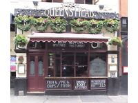 Full Time KP for Independent Soho Pub £8p/h