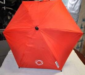 Orange Bugaboo parasol