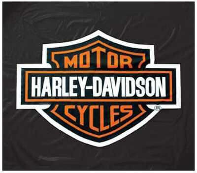 Harley-Davidson 8ft Black Vinyl Pool Table Cover HDL-11160 Black Vinyl Pool Table Cover