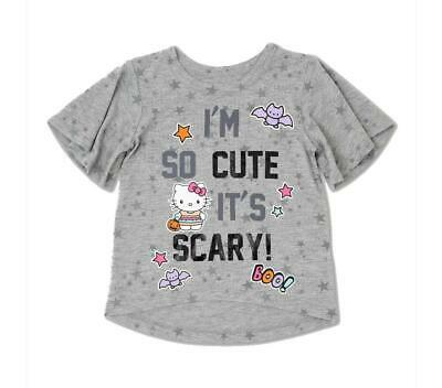 SANRIO HELLO KITTY I'M SO CUTE IT'S SCARY BOO TEE T-SHIRT TOP HALLOWEEN