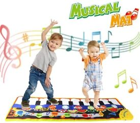NEW Education Toys for 3+ Years Old Girls Boys,Kids Piano Mat,19 Piano Key Playmat Touch Play Game