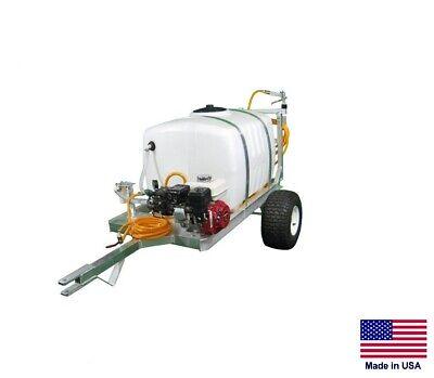 Sprayer Commercial - 2 Wheel Trailer - 6 Gpm - Boomless Nozzle - 100 Gallon Tank