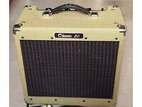 Vintage Peavey Classic 20 'tweed' valve amp