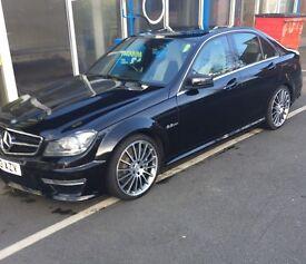 63 plate Black c63 6.3L AMG for sale
