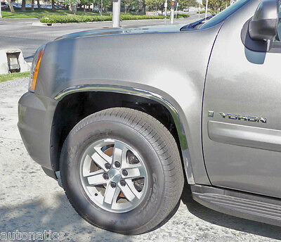 GMC YUKON 2007 - 2014 TFP Polished Stainless Steel Fender Trim Molding