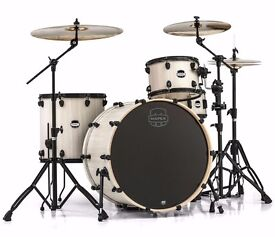 MAPEX MARS BIG BEAT - WITH PRO HARDWARE + CASES + YAMAHA SNARE DRUM
