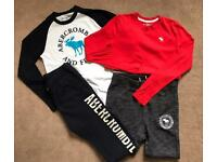 Abercrombie & Fitch Bundle Age 11-12 Years Boys Joggers & Tops