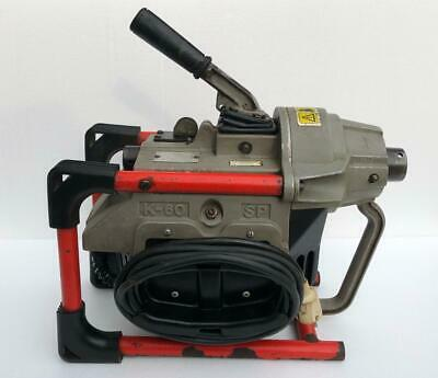 Ridgid Kollmann K-60 Sp Sectional Drain Cleaner Cleaning Machine 230 Vac 1