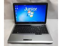 Samsung Fast HD Laptop, 320GB, 4GB Ram, Windows 7, Microsoft office, Immaculate Condition