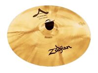 "zildjian 18""a custom fast crash cymbal ,new"
