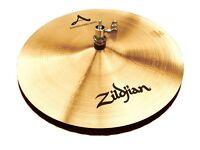 """avedis zildjian 13"""" mastersound hi hat cymbals ,new"""