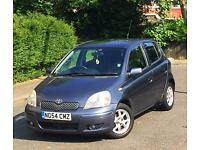 2004 54 REG TOYOTA YARIS VVT-I BLUE 1.3 PETROL 5DR HATCHBACK LONG MOT GOOD LITTLE RUNNER