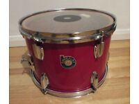 """VINTAGE BEVERLEY 1970's 13"""" x 9"""" tom drum for kit Made In ENGLAND by Premier Drums"""