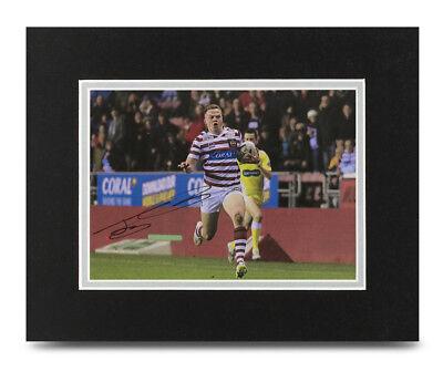 Joe Burgess Signed 10x8 Photo Display Wigan Warriors Autograph Memorabilia + COA