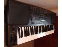 TECHNICS KN 1200 KEYBOARD IN GOOD CONDITION ALL FUNCTIONS WORKING CONSIDER PX FOR ACCORDION .