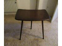 Ercol 1960s tripod plank extension table