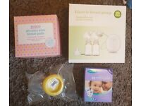 Electric breast pump and accessories brand new