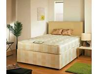 Double Deep Quilted Mattress with Divan