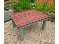 Handmade Patio Table - Reclaimed Wood