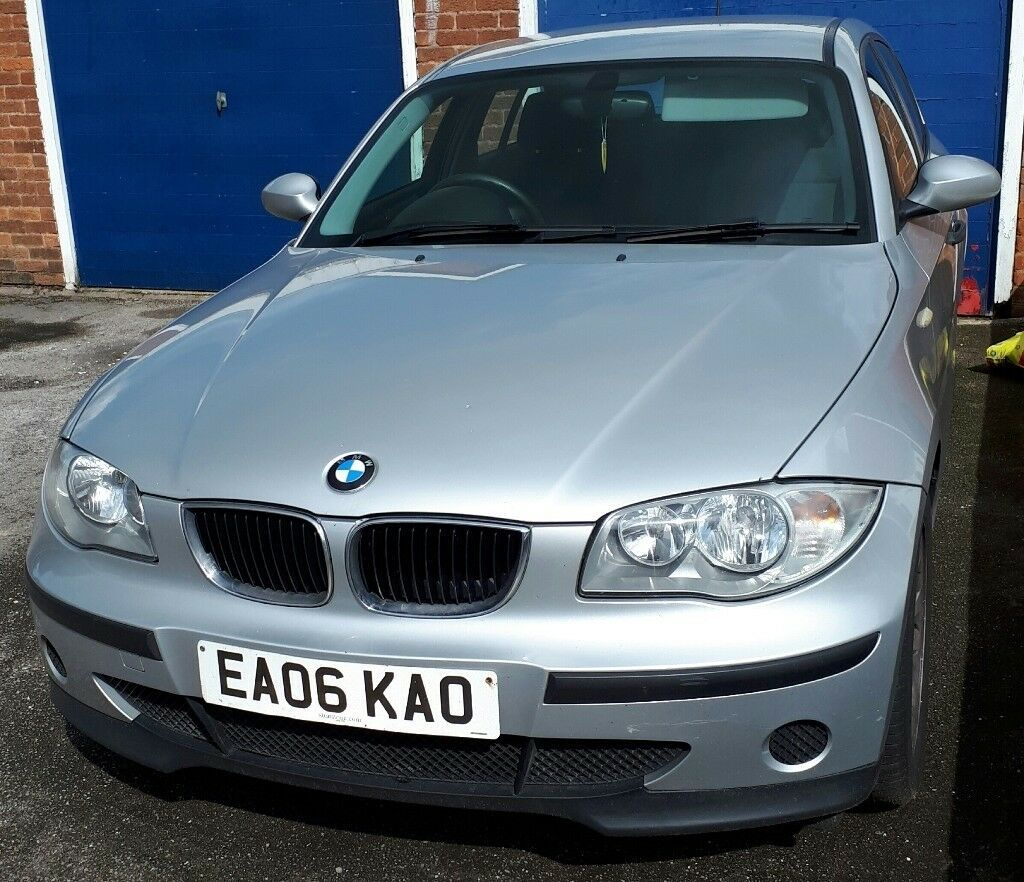 BMW 1 series 06 plate full servuce history and 9 months Mot - No advisories