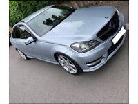 Mercedes-Benz C CLASS C220 AMG Sport Plus, Semi-Auto, Diesel, Apple CarPlay/Red Belts/Electric Seats