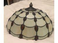 Tiffany style ceiling lamp shade