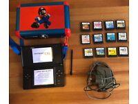 Nintendo DS Lite console & 12 games bundle