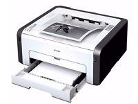Ricoh Wireless Mono Laser Printer Wifi Ready.