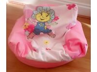 Kids Pink BEAN BAG / Girls Soft CHAIR