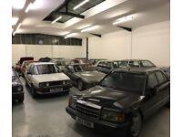 Secure Indoor Vehicle & Motorbike Storage In Alarmed Warehouse