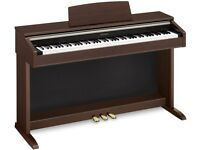Casio Celviano AP-200 Digital Piano top specs, fully weighted keys, 128 polyphony, nearly new