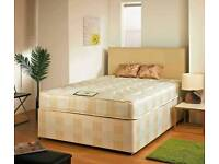 BRAND NEW Double Divan Bed Base & Mattress 100% Price Match SAMEDAY DELIVERY
