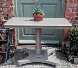 Vintage hall/side table