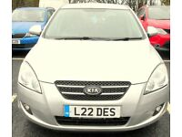 2008 kia ceed 1.6 automatic with full mot and tax to drive away fantastic car