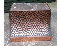 VINTAGE COPPER CANOPY - COOKER HOOD/ FIREPLACE -hand designed and made