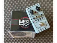 Twin Bender V3 vintage style fuzz by Ramble Effects