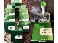 Joblot x10 Mens Lagos Natural Spray Perfumes valentines day Gift him cheap bundle Lacoste essential