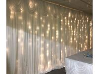 Starlit Backdrop for HIRE 150.00 SPECIAL OFFER UNTIL END OF JULY in London, Surrey and Kent areas